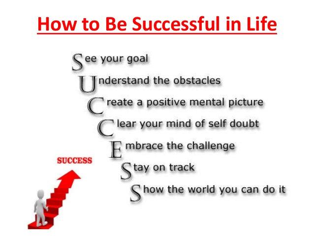 be successful in life essay In this essay i will use people often believe that in order to be happy one must have a successful life when reading about success.